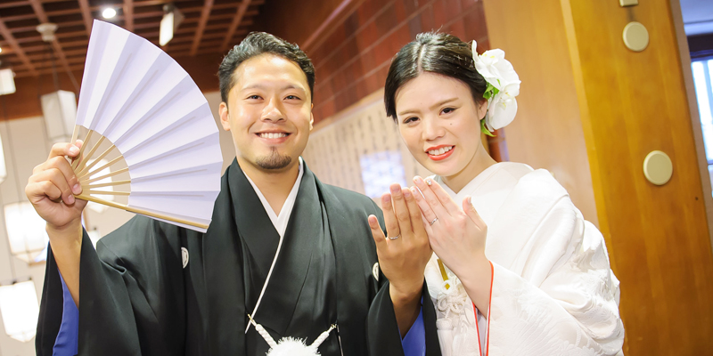Tomohisa様 & Ayaka様