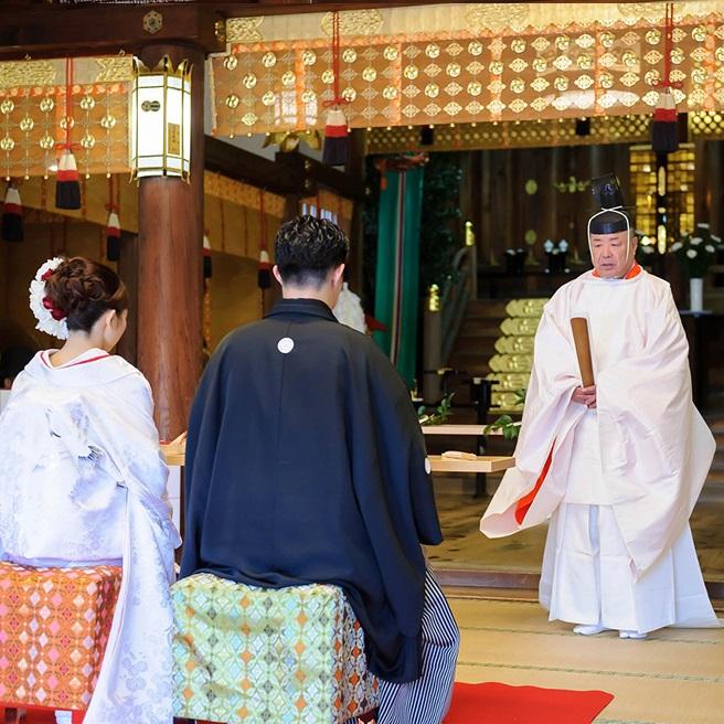 【伝統的な神前式を体験】神職による挙式説明付き相談会